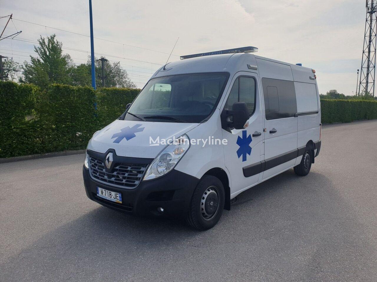 RENAULT MASTER 2019 NEUF ambulancia nueva