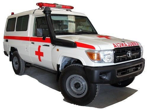 TOYOTA Land Cruiser HZJ78 Hardtop RHD ambulancia nueva