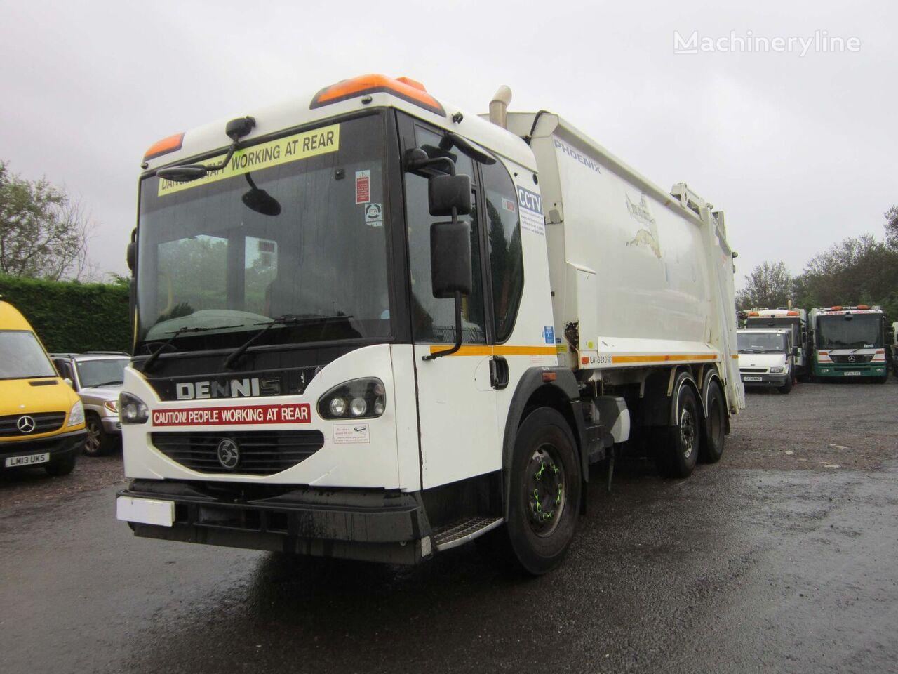 Dennis ELITE 2 6X4 26TON AUTO PHOENIX BODY REFUSE C/W BIN LIFT  camión de basura
