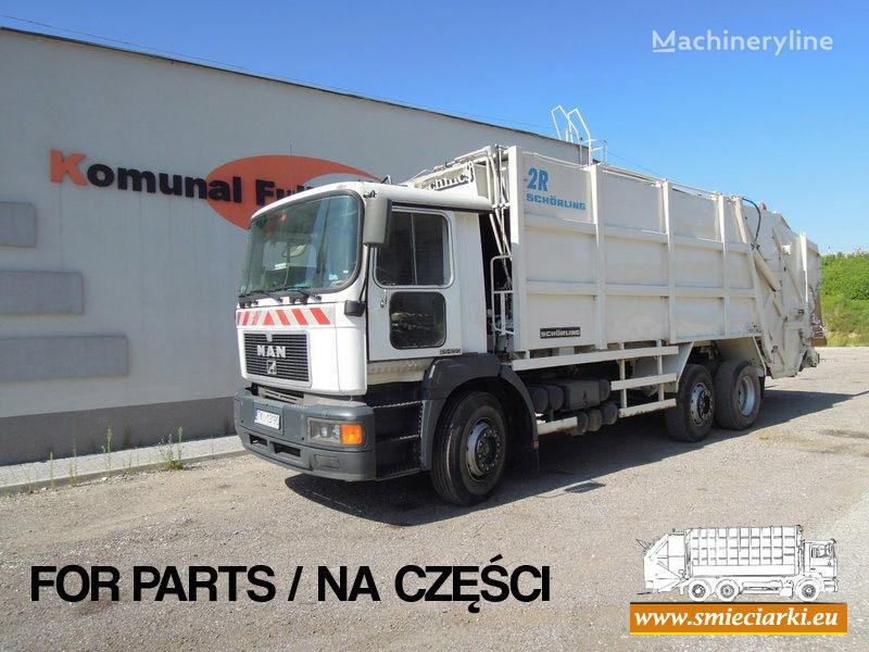 MAN 26-293 camión de basura