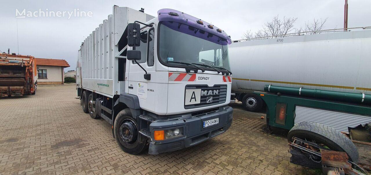 MAN FE 310A  camión de basura