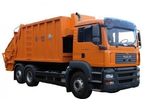 MAN KO-427-46  camión de basura