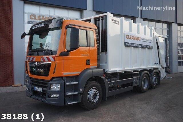 MAN TGS 26.320 camión de basura