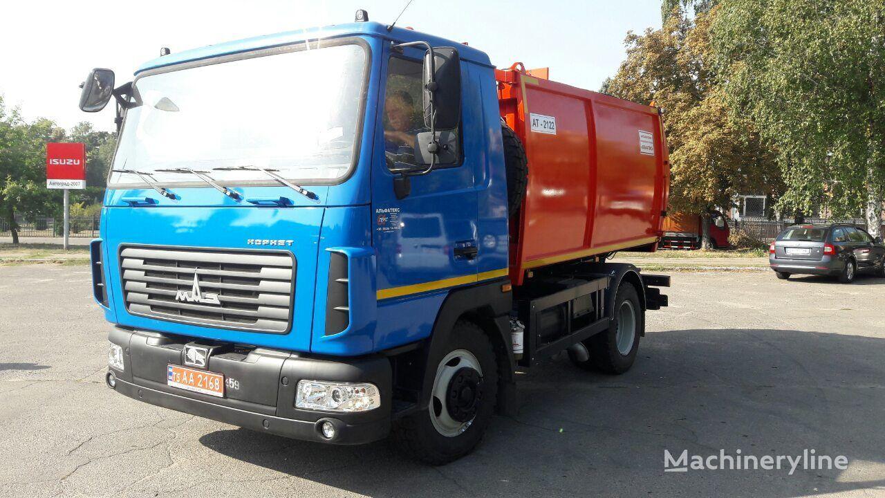 MAZ AT 2122 camión de basura nuevo