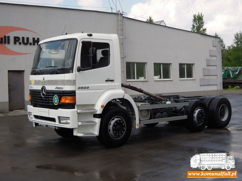 MERCEDES-BENZ Atego 2528 camión de basura