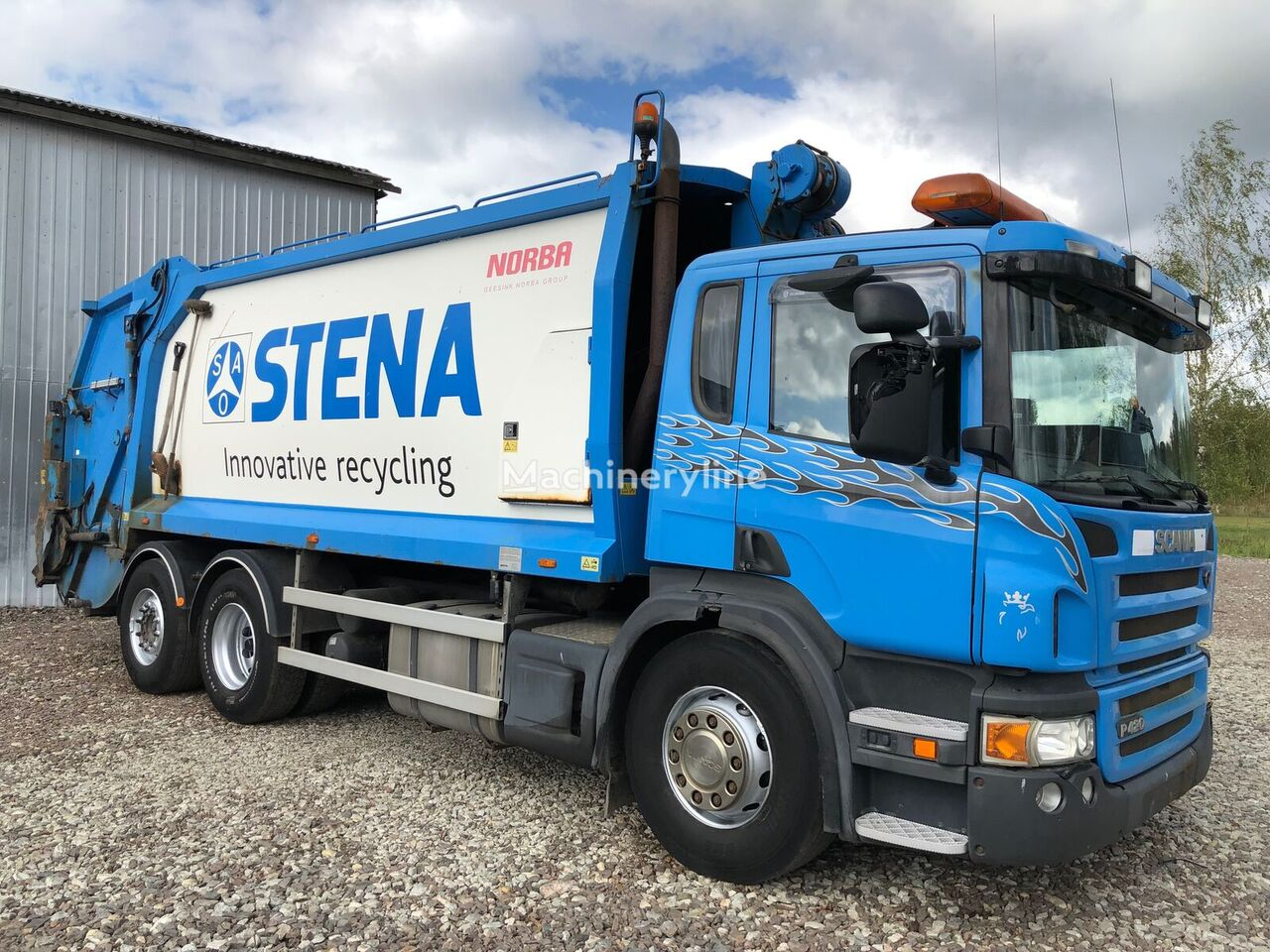 SCANIA P420 LB camión de basura