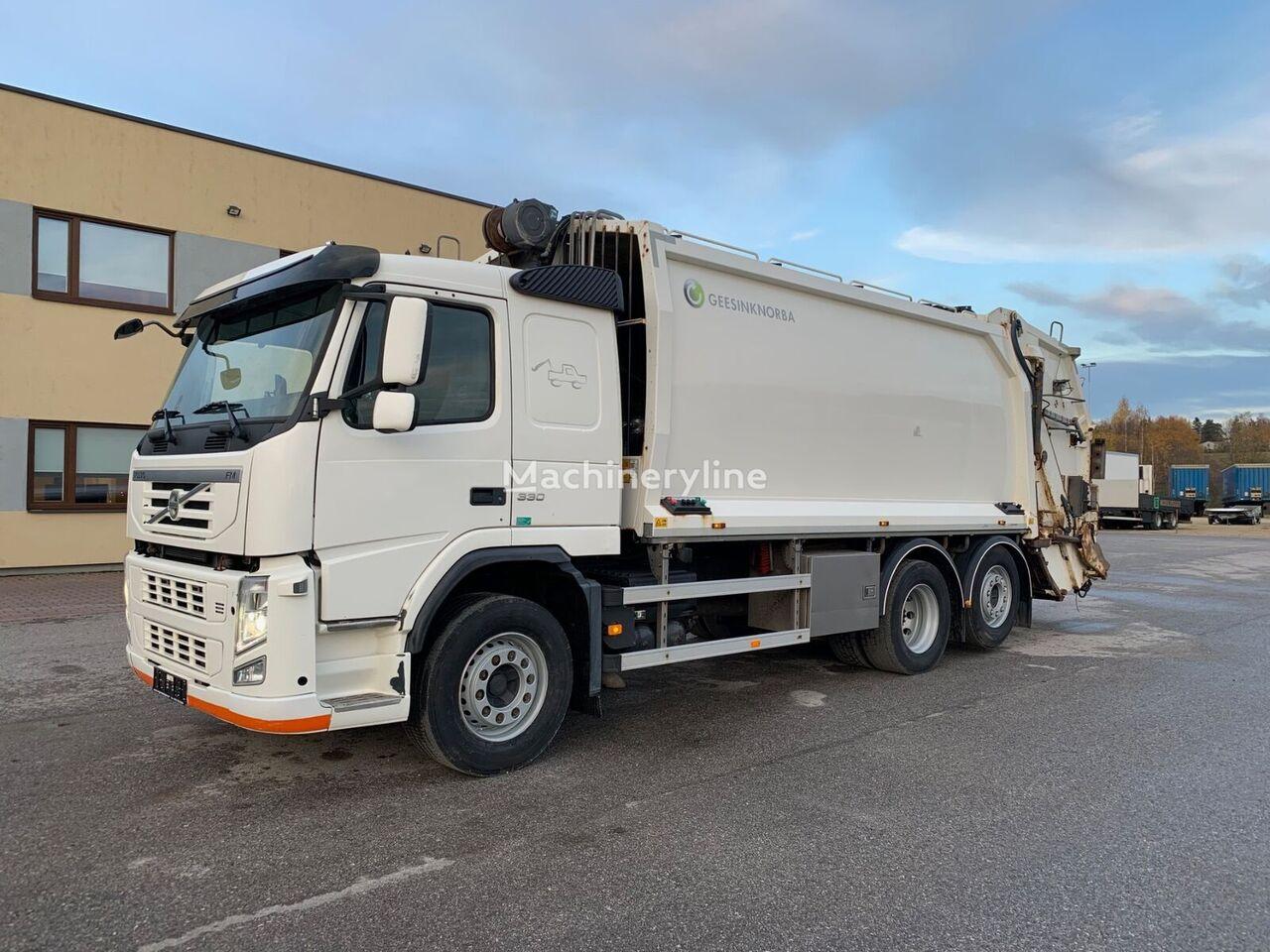 VOLVO FM330 6x2+VINCH camión de basura