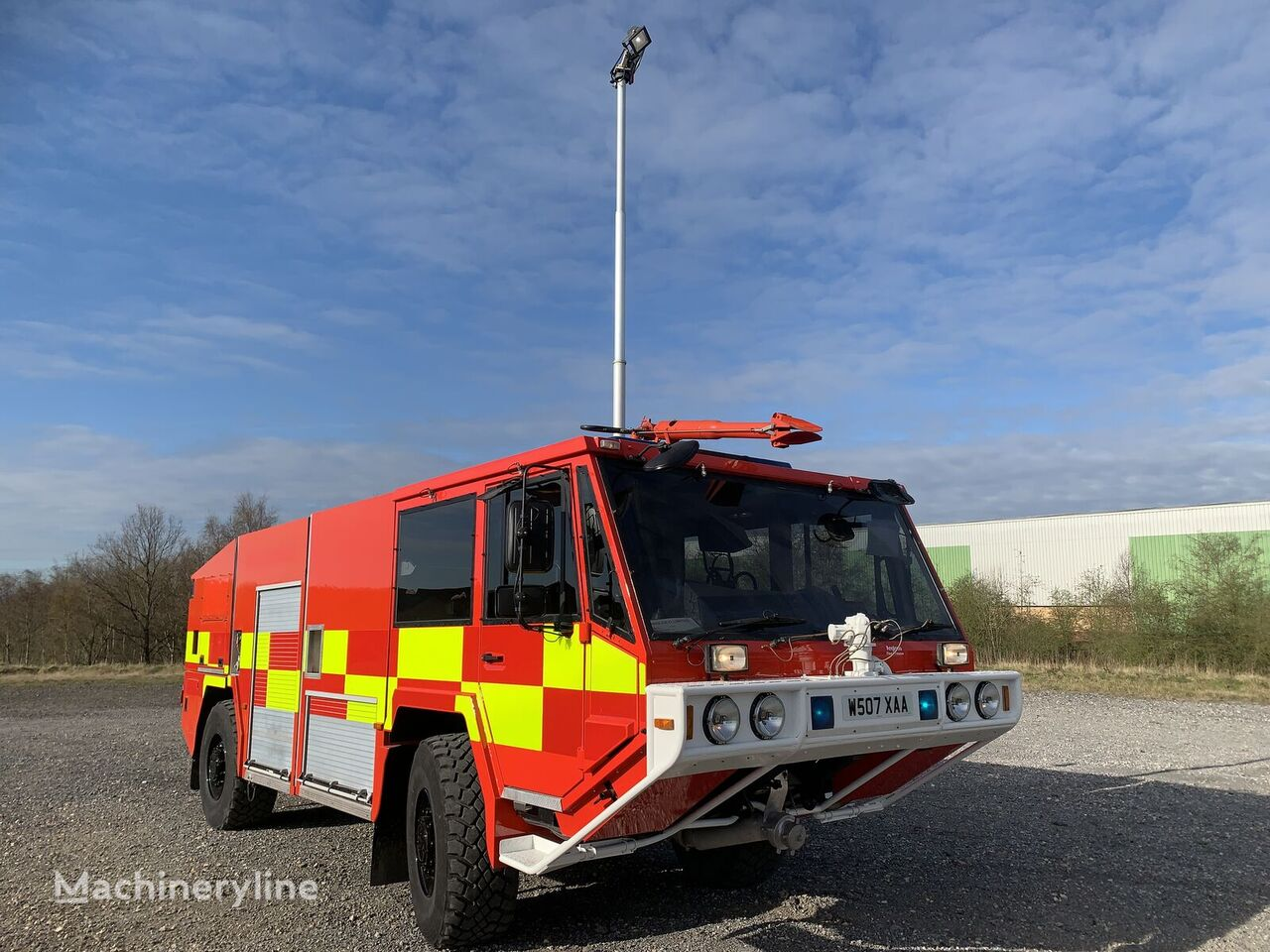 RIV - ANGLOCO  camión de bomberos para aeropuerto