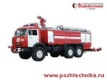 KAMAZ AA-8/60    camión de bomberos