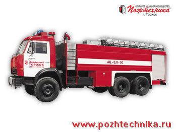 KAMAZ AC-8,8-50  camión de bomberos