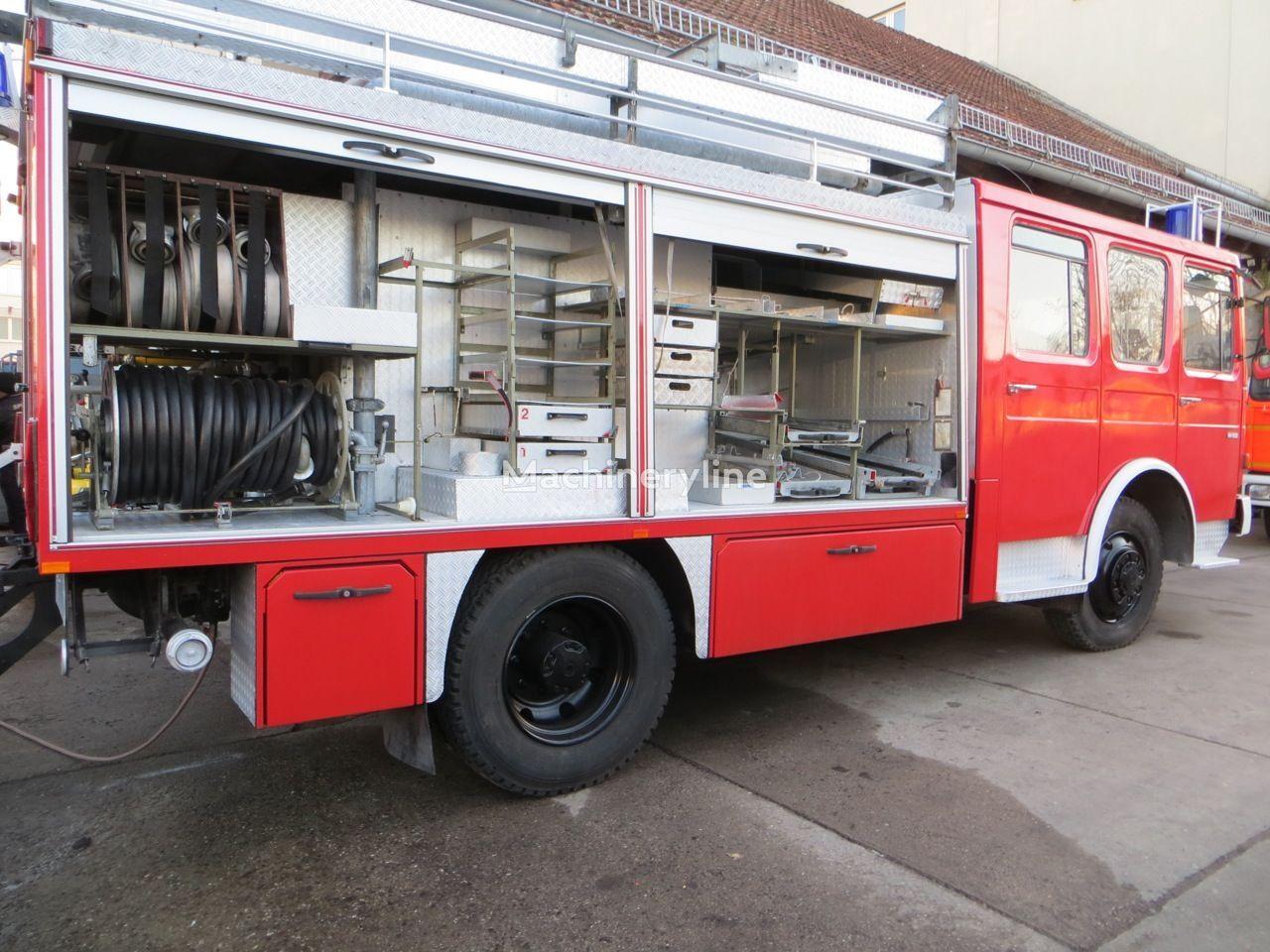 Venta de camiones de bomberos man 4x4 mit for Cabina del mulino del dennis