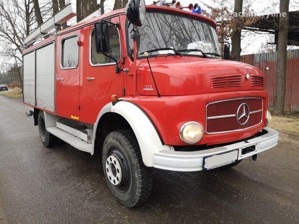 MERCEDES-BENZ 1113 camión de bomberos