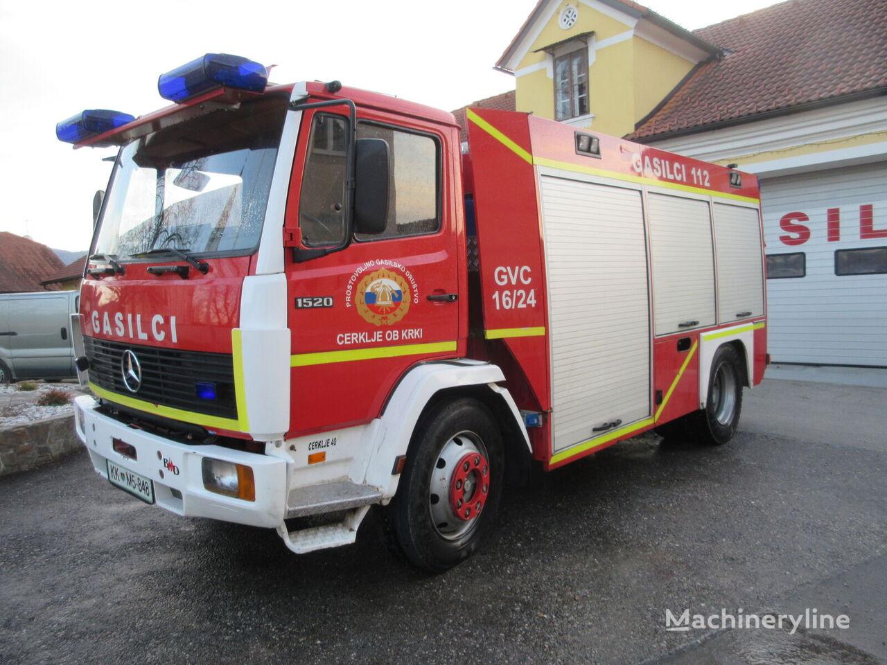 MERCEDES-BENZ 1320 camión de bomberos