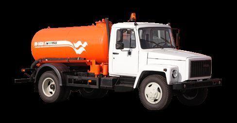GAZ Vakuumnaya mashina KO-503V-2 camión de vacío