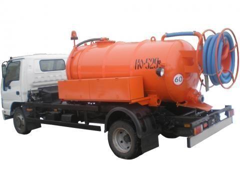 ISUZU KO-529-10  camión de vacío