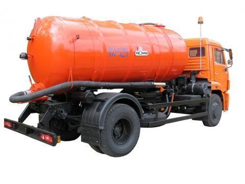 KAMAZ KO-529-13  camión de vacío