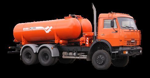 KAMAZ Vakuumnaya mashina KO-505A-1 camión de vacío