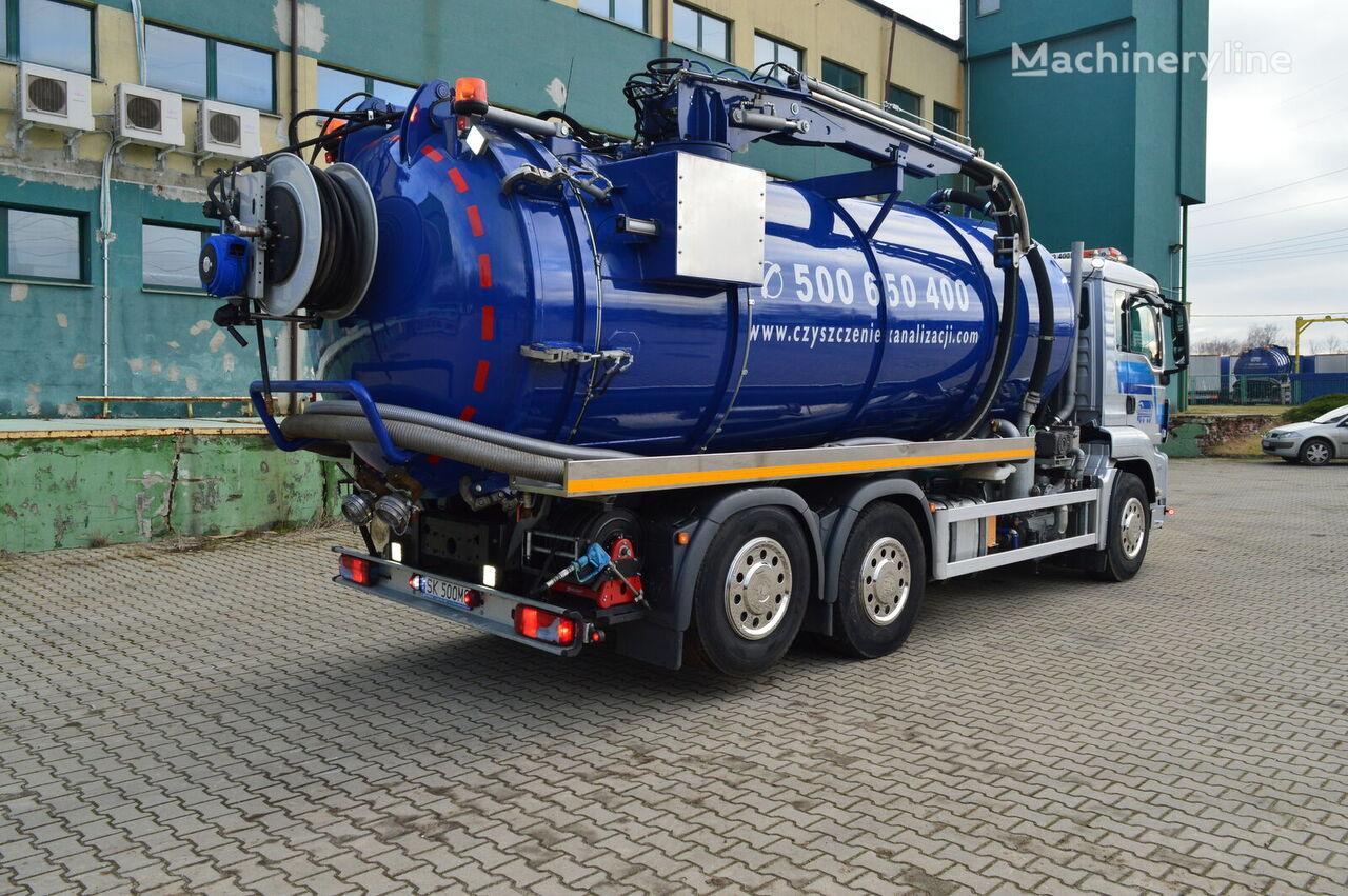 MAN TGS 26.440 aufbau 2019 EURO5 lenkachse 6x2 camión de vacío