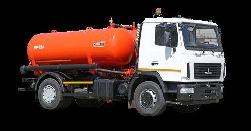 MAZ Vakuumnaya mashina KO-523 camión de vacío