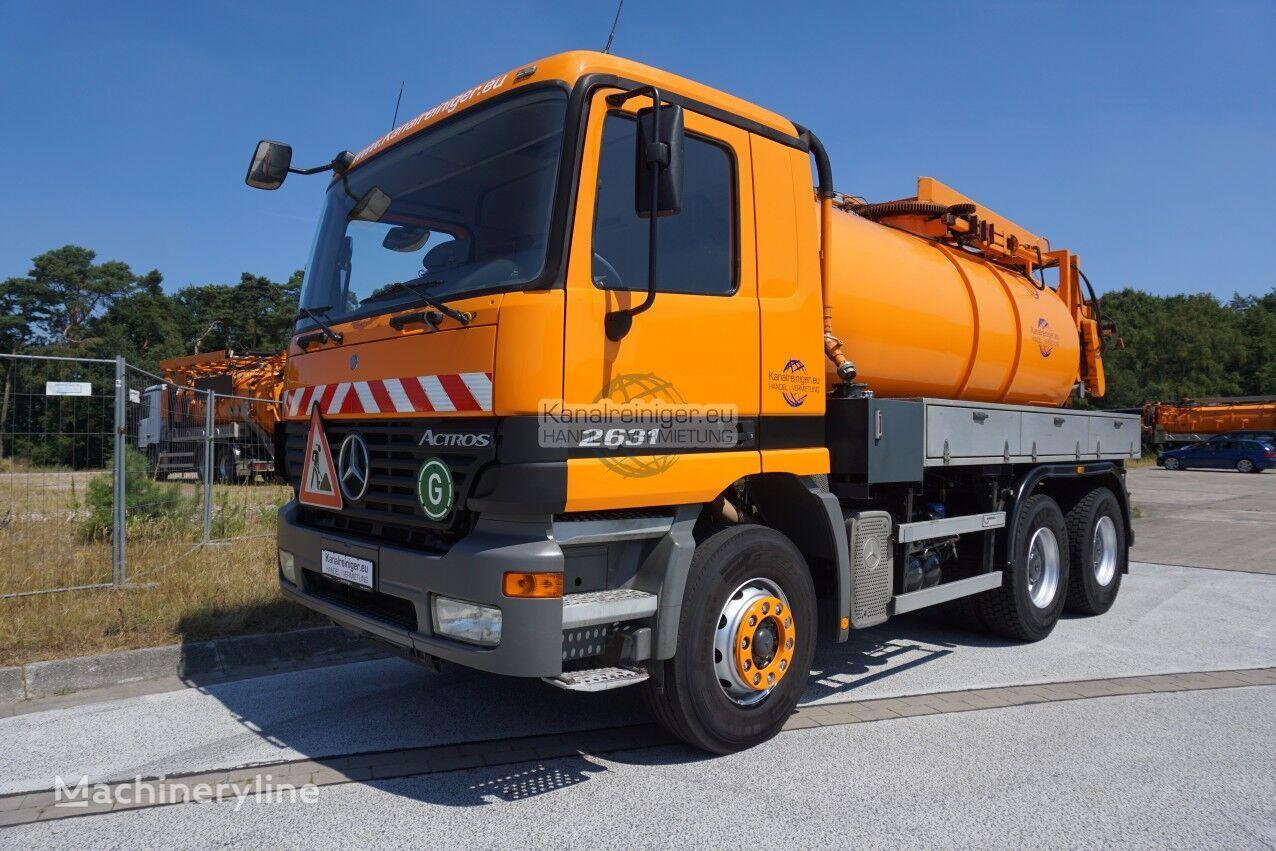 MERCEDES-BENZ Uraca KD 716-G60 camión de vacío