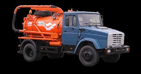 ZIL Ilososnaya mashina KO-510D camión de vacío
