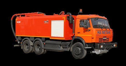 KAMAZ KO-560G combinado para limpieza de alcantarillado