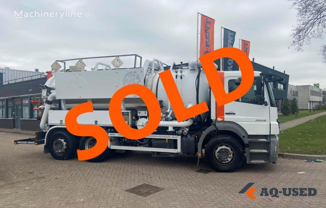 MERCEDES-BENZ EcoVac ADR vacuum truck on Mercedes-Benz chassis | Used combinado para limpieza de alcantarillado