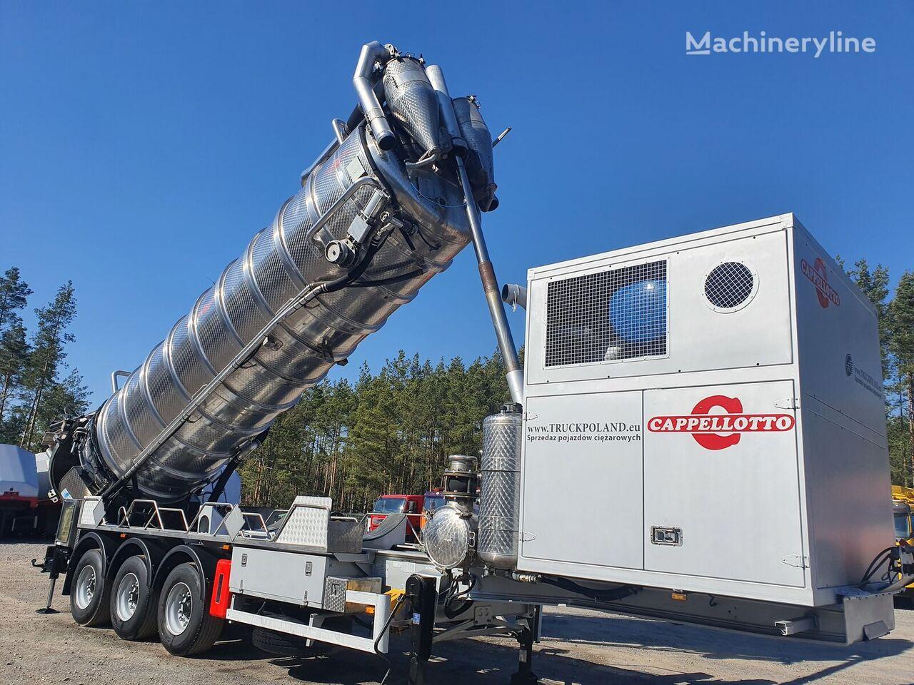 SCANIA CAPPELLOTTO CAP 2500  ADR Specjalistyczna autocysterna do przewo combinado para limpieza de alcantarillado
