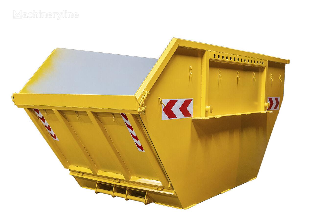 Absetzmulde Absetzcontainer Mulde Container 10cbm offen klappe contenedor de obra nuevo