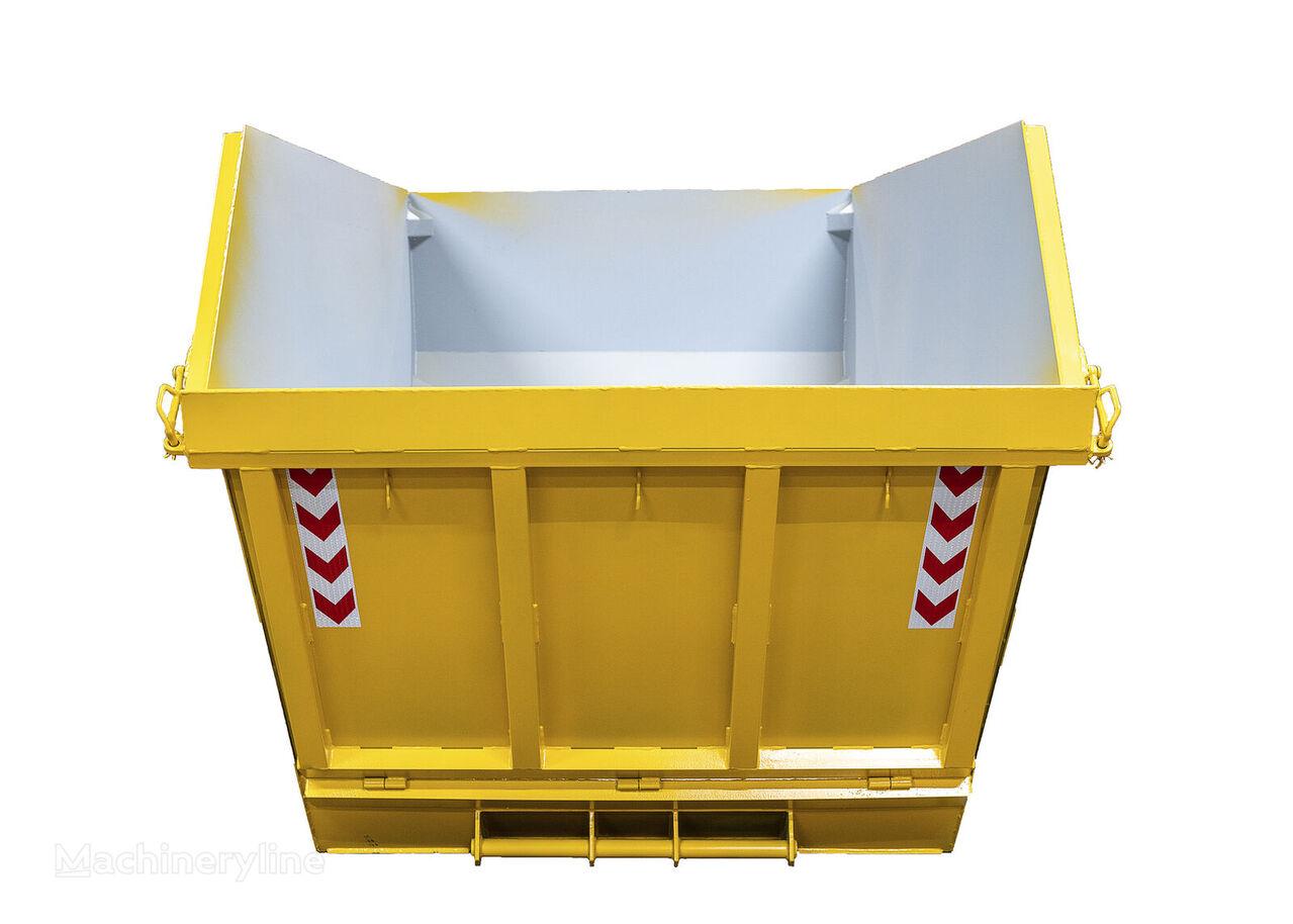 Absetzmulde Absetzcontainer Mulde Container 12cbm offen klappe contenedor de obra nuevo