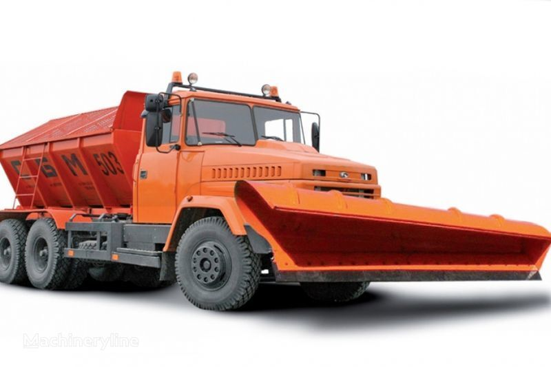 KRAZ 65055 MDKZ-30 esparcidor de sal/arena