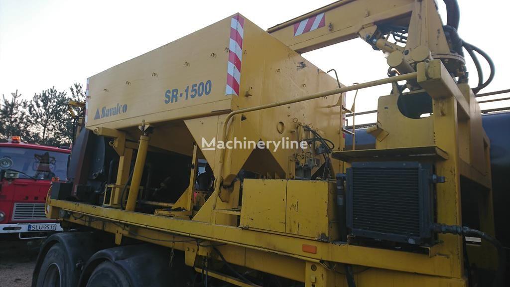 otra maquinaria municipal VOLVO F12 PATCHER SAVALCO SR-1500