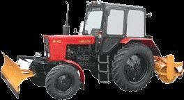 MTZ 82 MK (otval+shchetka) quitanieves