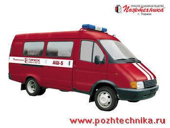 GAZ ASh-5 vehículo de mando móvil