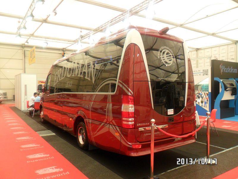 MERCEDES-BENZ SPRINTER LUXUS - ERDUMAN furgoneta de pasajeros nueva