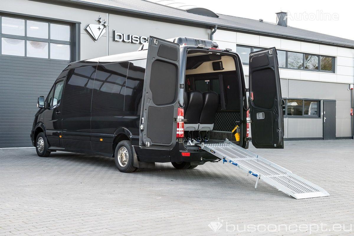 furgoneta de pasajeros MERCEDES-BENZ Sprinter 519 Schuttle / 16+1+3 wheelchairs !!! nueva