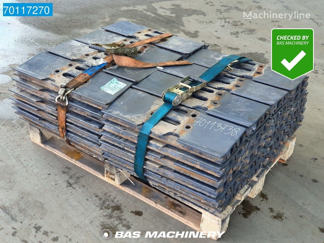 DOOSAN DX300 Track New unused tracks - triple grousers - DX300 otros