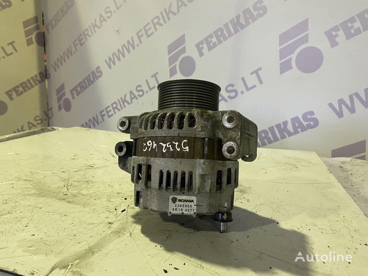 (2395908) alternador para SCANIA tractora