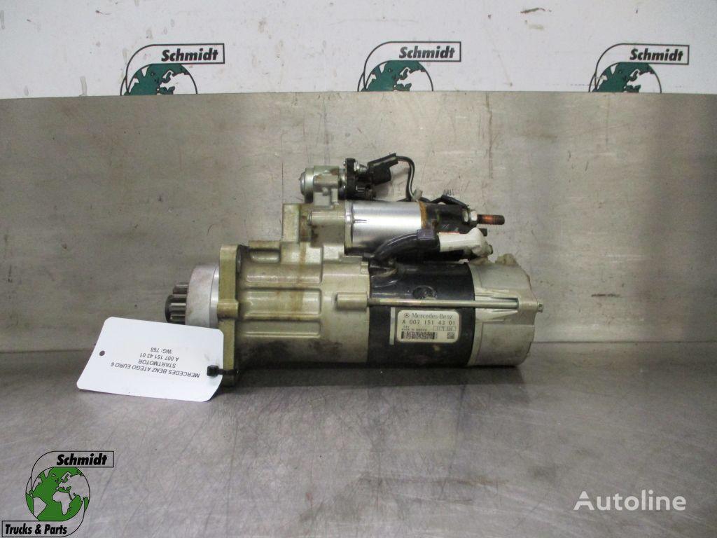(A 007 151 43 01) arrancador para MERCEDES-BENZ Actros camión