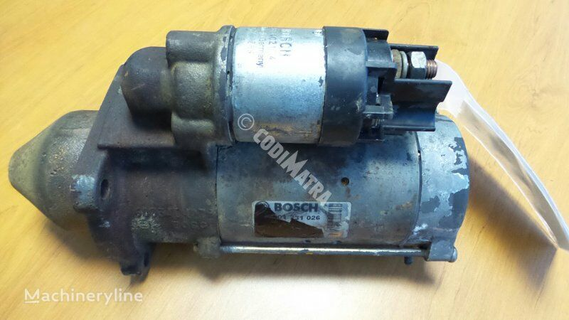 arrancador para CASE WX150 excavadora