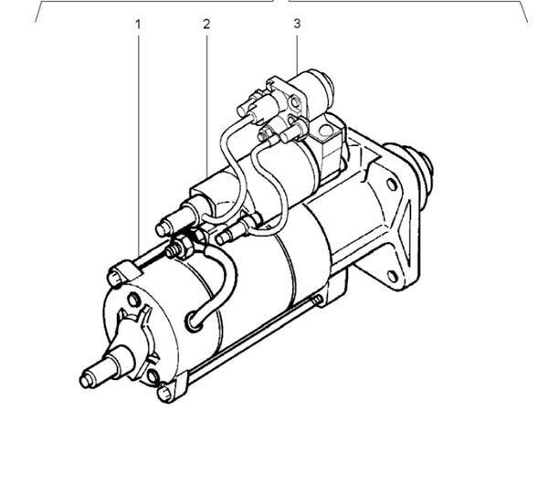 Motor Arranque Renault Premium Distribution 420.18 (5010508380) arrancador para RENAULT Premium Distribution 420.18 camión