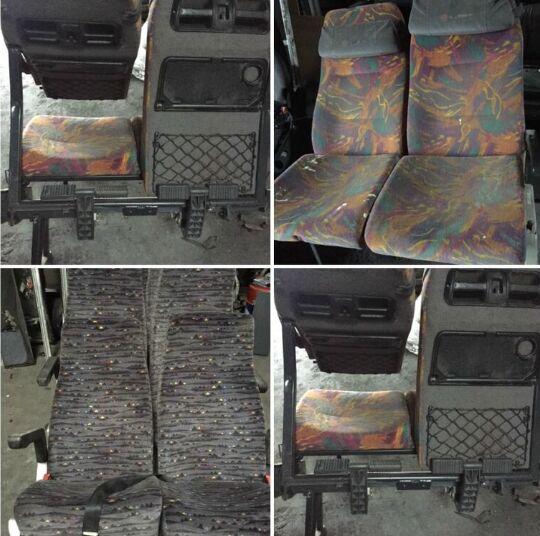 asiento para MERCEDES-BENZ 0350 autobús