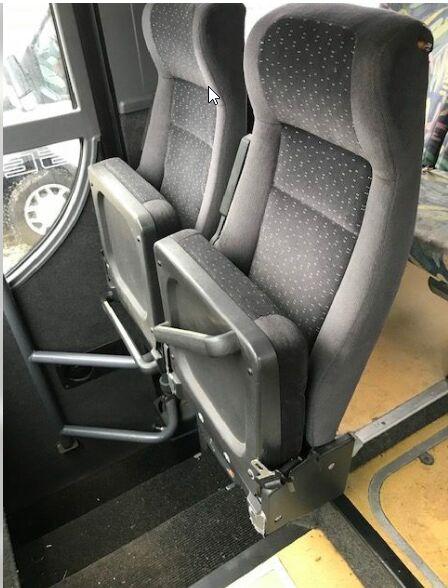 asiento para MERCEDES-BENZ Citaro 1, Citaro 2, Conecto, Integro, Intouro, 0350, Tourismo, Travego autobús
