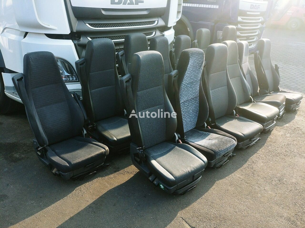 SCANIA PNEUMATIC DRIVERS RIGHT SIDE AIR asiento para camión