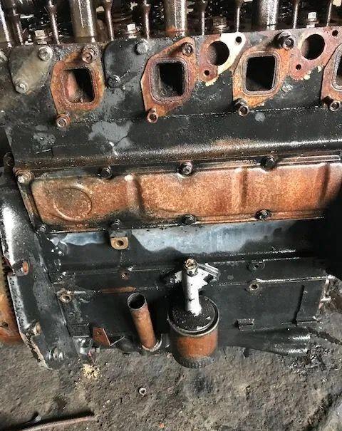 bloque de motor para tractor