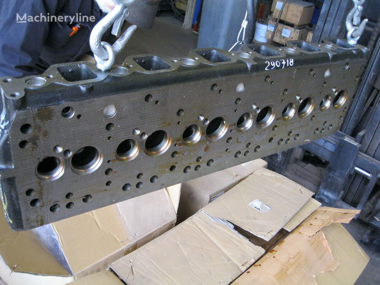 6BG (288717A1) bloque de motor para excavadora