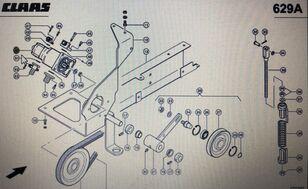 CLAAS podwójna pompa (00 0771 717 0) bomba hidráulica para CLAAS Lexion 580 570 600 cosechadora de cereales