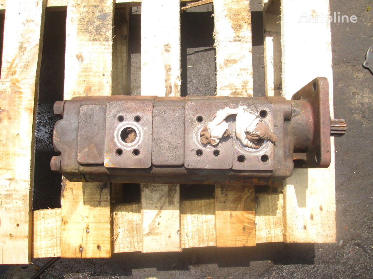 COMMERCIAL P25X178BIRZ17-7GVAB12-1 bomba hidráulica para GROVE grúa móvil