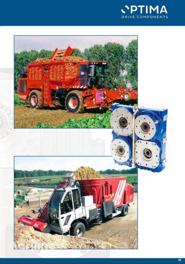 OPTIMA Twin Disc type Pump Drives bomba hidráulica para cosechadora de cereales nueva
