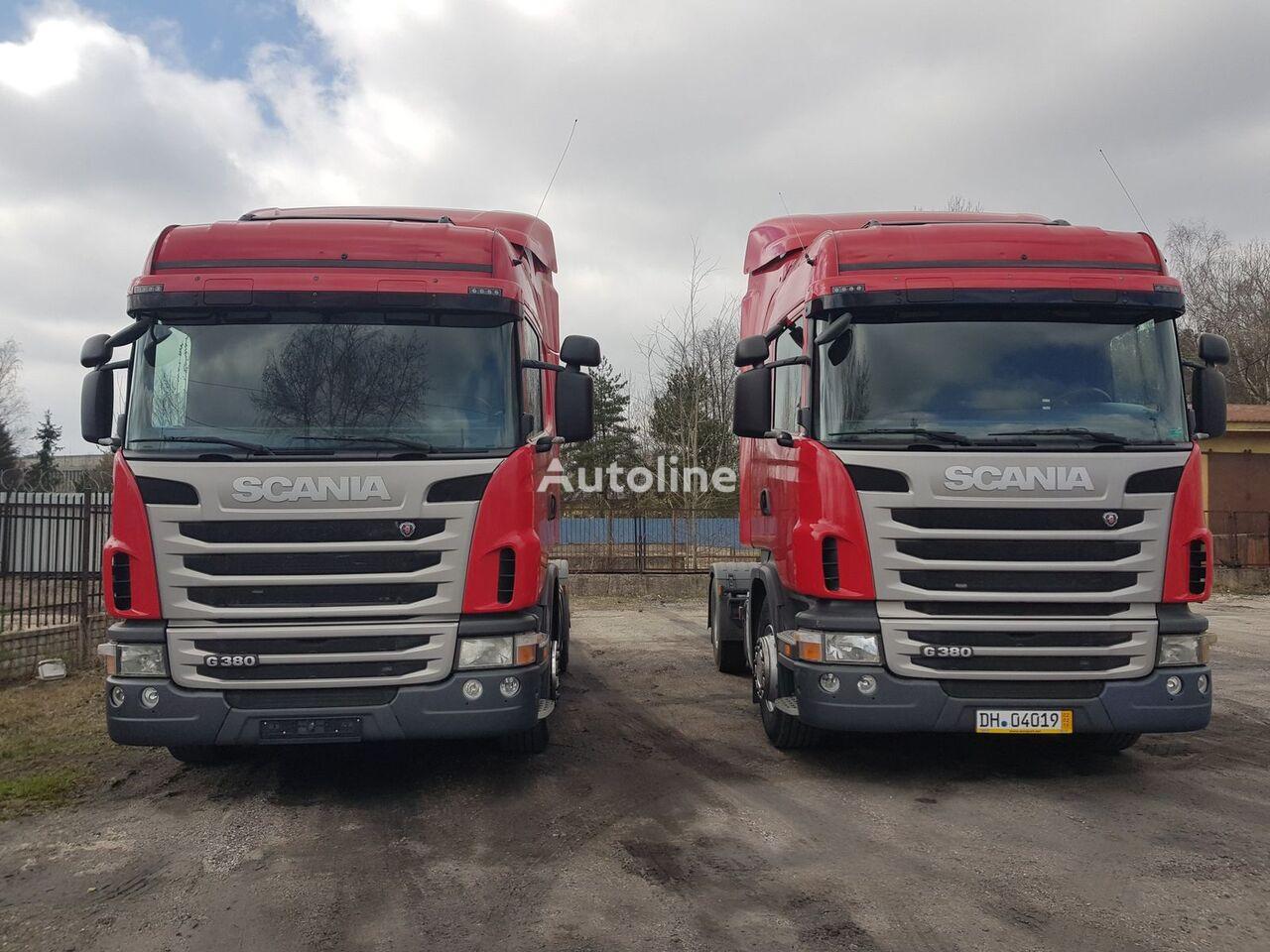 SCANIA G 380 cabina para SCANIA G  camión